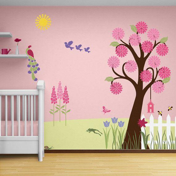 murales para paredes infantiles