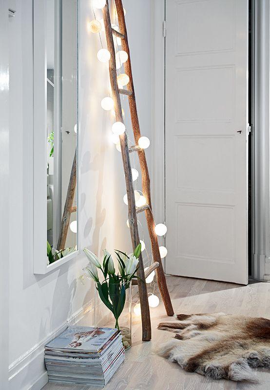 decoración con luces