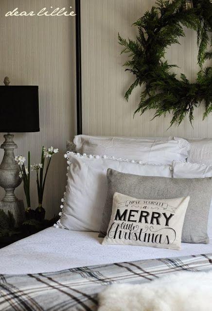 decoración navideña ropa de cama