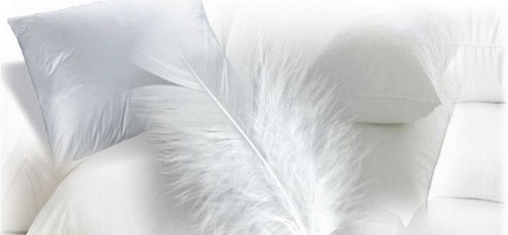 almohadas de plumas