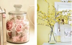 como decorar en primavera