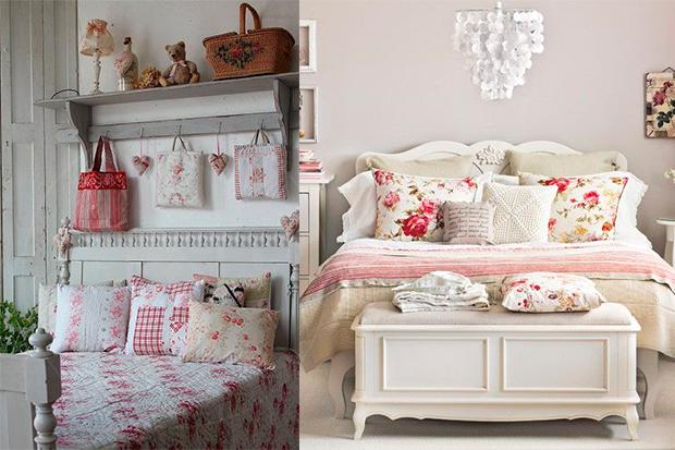 Apuesta por la ropa de cama vintage para el dormitorio - Dormitorio estilo vintage ...