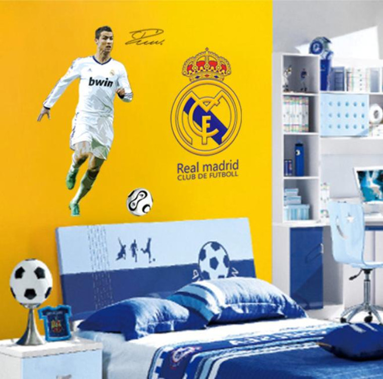 Crea tu propia habitacin madridista df9906 world cup 2014 football poster real madrid thecheapjerseys