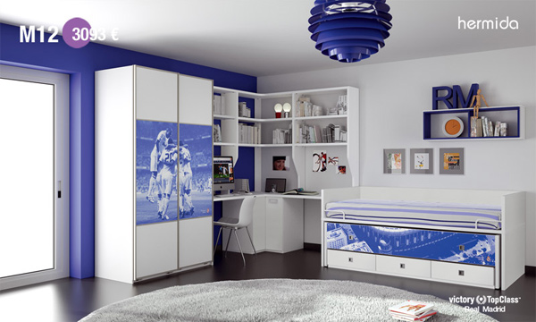 crea tu propia habitaci n madridista