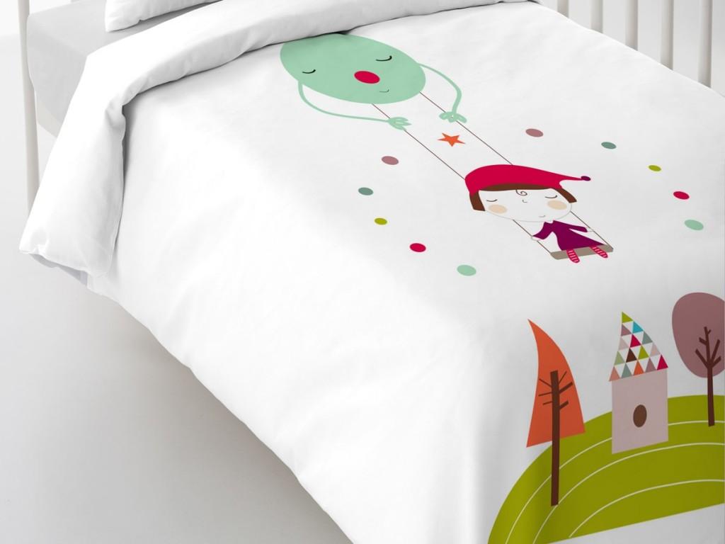 Las fundas nórdicas para bebé incluyen sábana bajera y funda de almohada.