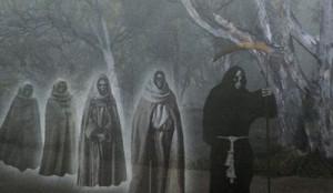 Fantasmas gallegos de la Santa Compaña.