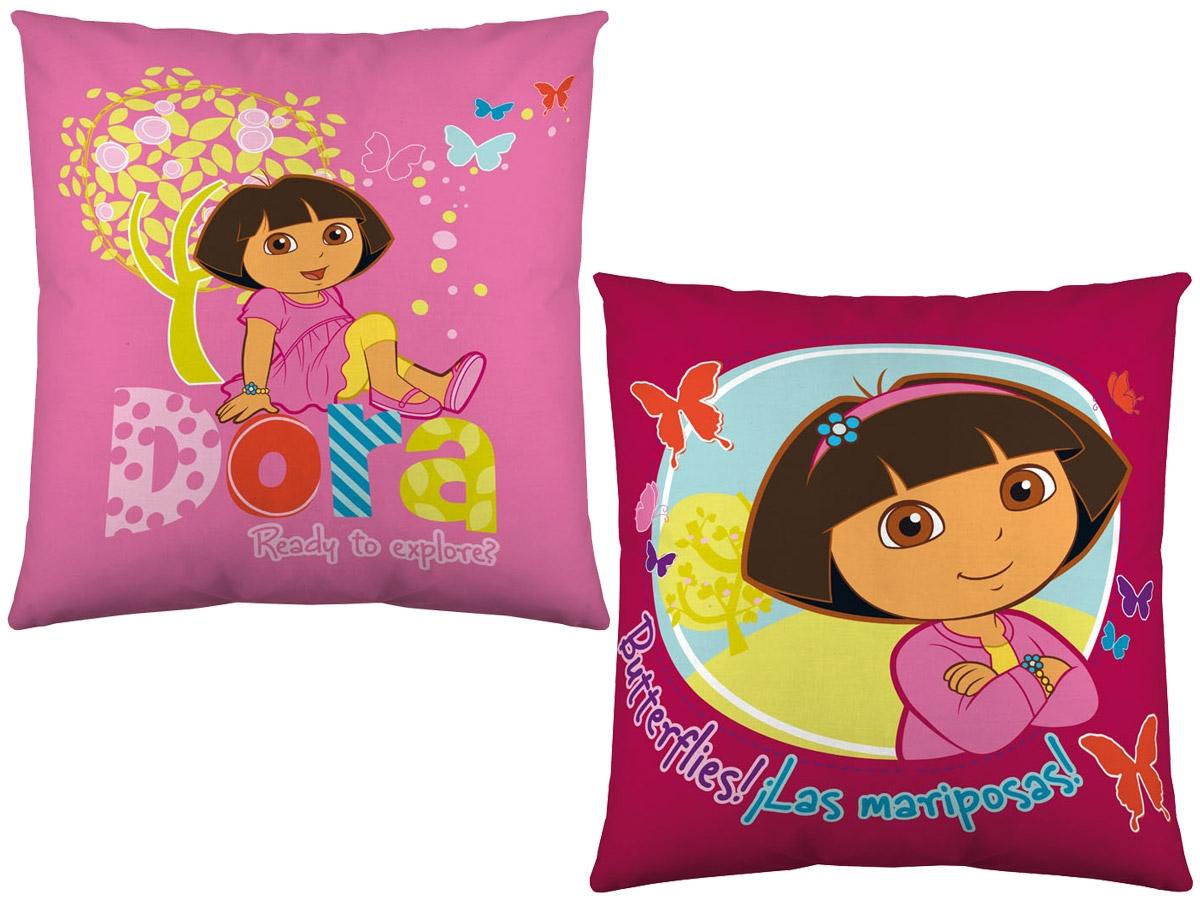 Cojines infantiles con dibujos animados Dora