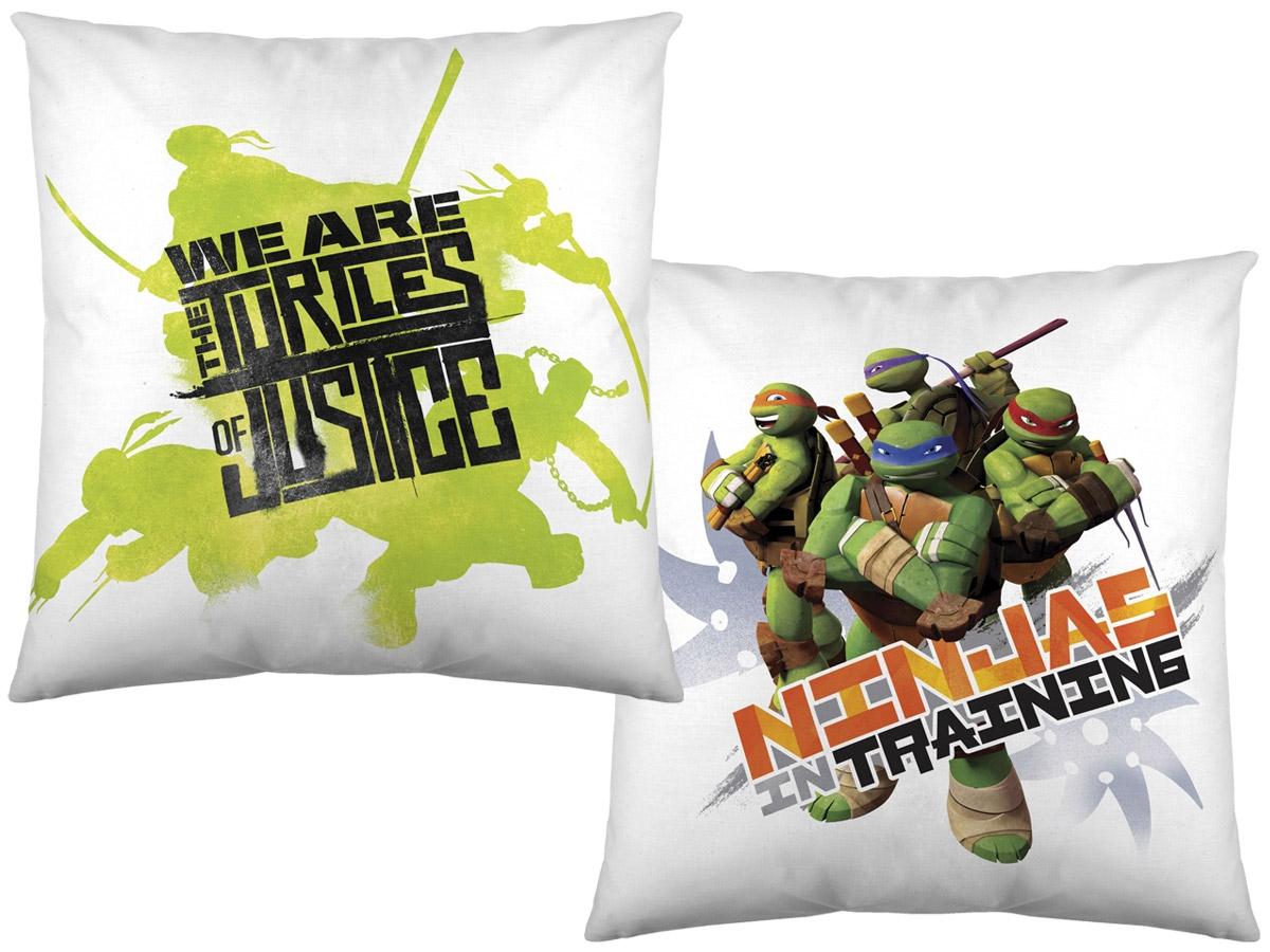 Cojines infantiles con dibujos animados Tortugas Ninja