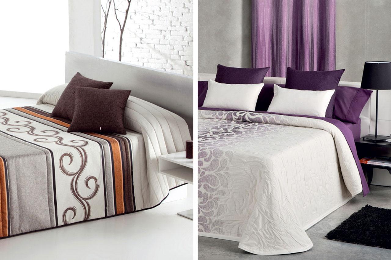 Edred n o colcha diferencias para vestir la cama a tu gusto for Colchas para camas de 150 con canape