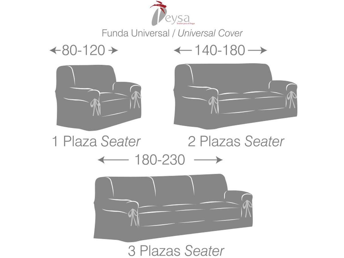 guía medidas funda sofá